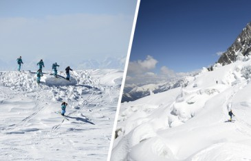 Mont Blanc/Chamonix à ski : record en 32 min !