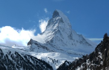 North face of the matterhorn, schmidt route