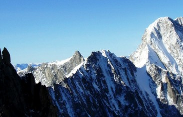 North face of grandes jorasses