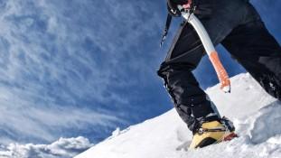 Mont-Blanc on skis