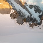 traversée des arêtes Rochefort Jorasses