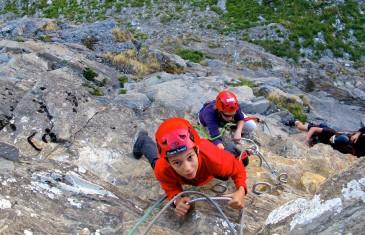 Stage multi activités Escalade Via Ferrata Canyoning