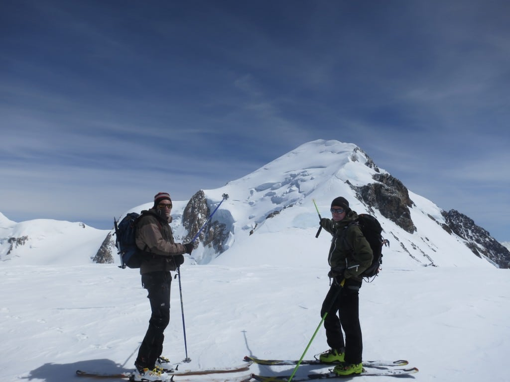 sommet du dôme objectif Sommet du Mt Blanc