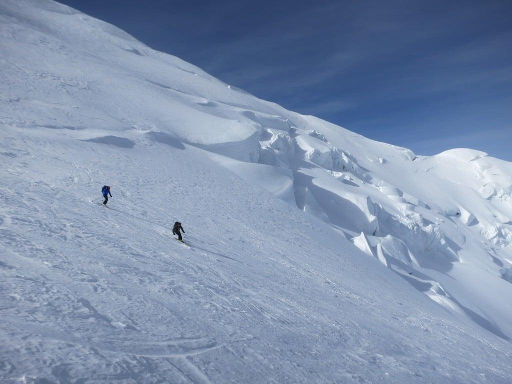 Face nord du Mont Blanc