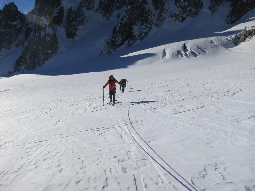 Un peu de ski de rando d'altitude
