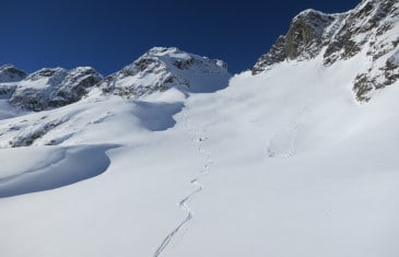 Traversée Crochues Berard Mont Buet ski alpinisme