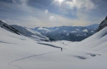 Enchainement en ski alpinisme autour de Morzine