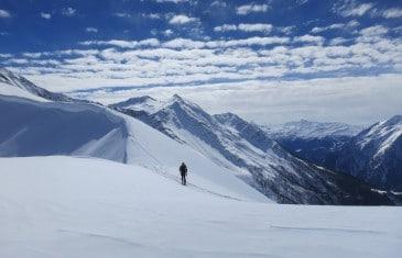 Raid à ski tour des Grandes Jorasses en 3 jours