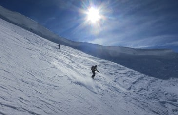ski alpinisme Tête de Bossetan