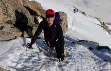 Mont Blanc du Tacul voie Contamine Grisole