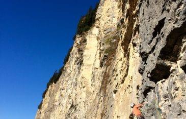 La voie des Ardoisiers à Morzine